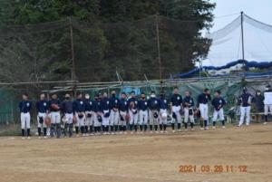 2021.03.28 練習試合(vs江戸川東シニア)